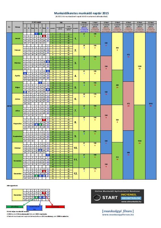 2010 évi munkaidő naptár 2017 Es Munkaidő Naptár   MuzicaDL 2010 évi munkaidő naptár